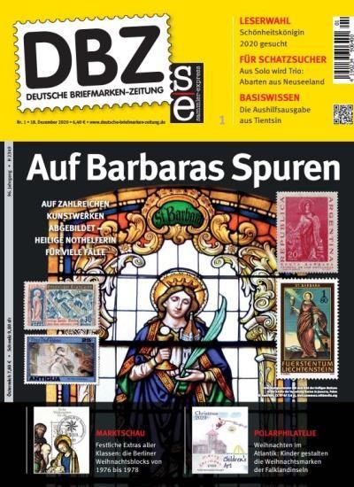 DBZ DEUTSCHE BRIEFMARKEN-ZEITUNG 1/2021